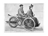 Leon Bollee's 'Voiturette' Car  1896