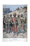 Menelik II of Abyssinia  1895