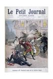 Assasination of Stefan Stambulov  Sofia  Bulgaria  1895