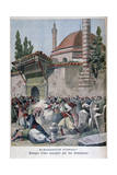 An Attack on a Mosque by Armenians  1895