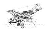 A Hawker Nimrod Aeroplane  C1930S