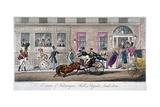 Exterior of Fishmongers Hall  a Regular Break Down  1824