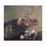 Gladioli and Roses  1880