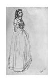 Fumette  Standing' 1859