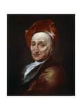Portrait of the Author Bernard Le Bovier De Fontenelle  18th Century