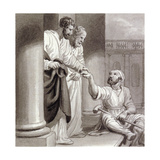 Peter and John with the Beggar at the Beautiful Gate  C1810-C1844