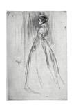 The Velvet Dress  1873