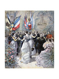 Celebrations in Honour of the Visit of the Russian Fleet in Toulon  1893