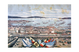 The Port of Toulon  1893