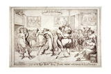 Waltzing! or a Peep into the Royal Brothel  Spring Gardens  London  C1816