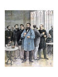 The Refreshment Bar  Chamber of Deputies of France  Paris  1892