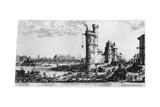 Vue Ancienne De Paris  C1615-1635
