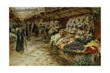 Flower Market  1882