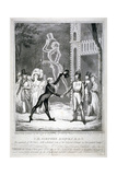 Ceremony in Vauxhall Gardens  Lambeth  London  1833