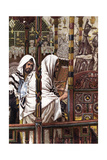 Jesus Teaching in the Synagogue  C1897