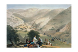 Encampment of the 1st Bengal European Regiment  First Anglo-Afghan War 1838-1842