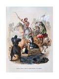 Ibrahim Pasha Fighting the Wahabis  Saudi Arabia  1811-1818