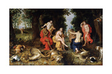 Diana's Rest on the Hunt  Late 16th or Early 17th Century