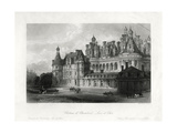 Chateau De Chambord  Loir-Et-Cher  France  1875
