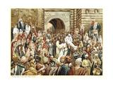 Jesus Raising the Widow's Son at Nain  C1890