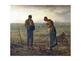 The Angelus, 1857-1859 Giclée par Jean Francois Millet