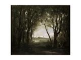 Scene Near a Lake  1860-1873