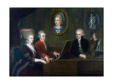 The Mozart Family  1780-1781