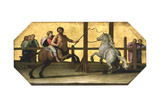 The Education of Achilles: the Riding Lesson  17th Century