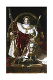 Napoleon I on the Imperial Throne  1806