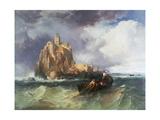 Mont St Michel  1868
