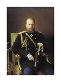 Portrait of the Emperor Alexander III  1886