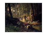 A Walk in a Forest  1869
