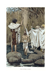 Baptism of Jesus by John the Baptist  C1890