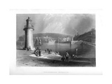 Whitehaven Harbour  Cumbria  1886