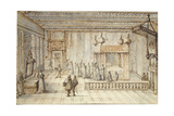 The Chamber of King Louis XIV in Versailles  1654