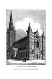 North West View of Salisbury Cathedral  1843