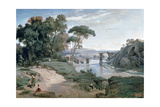The Bridge at Narni  1827