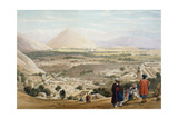 Kabul from the Citadel  Showing the Old Walled City  First Anglo-Afghan War 1838-1842