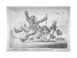 Elements of Skateing Making the Most of a Passing Friend  in a Case of Emergency!  1805