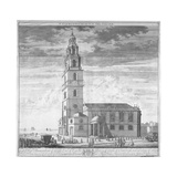 St Clement Danes Church  Westminster  London  C1719