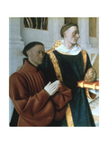 Etienne Chevalier and St Stephen  C1450