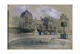 The Tuileries  Paris  France  1846