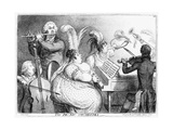 The Pic-Nic Orchestra  James Gilray  1802