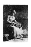 The Wool Carder  C1835-1875