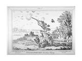 Cockney-Sportsmen Shooting Flying  1800