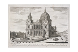 St Paul's Cathedral Exterior  London  1747