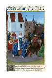 Entry of John II to Paris  14th Century  (1455-146)
