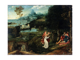 Landscape with the Legend of Saint Roch  Early 16th Century