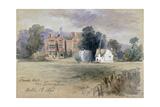 Frank's Hall Near Farningham  1846