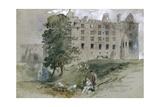 Linlithgow Castle  West Lothian  Scotland  1845